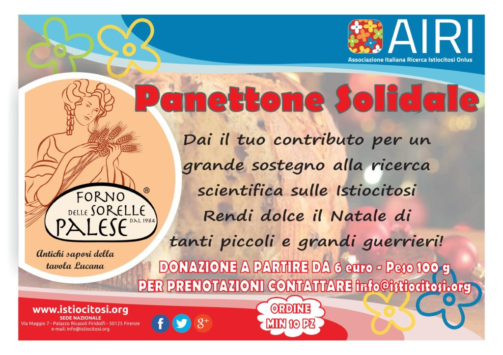 Panettone solidale AIRI 2018